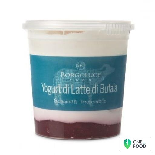 Himbeeren Buffelmilch Joghurt